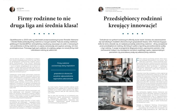 Magazyn Family Business 01/2016