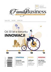 okładka 04/2019 Magazyn Family Business