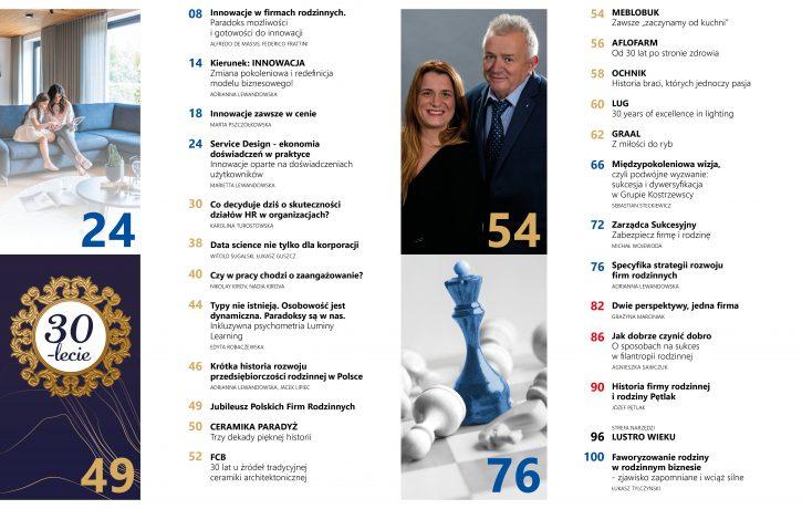 Spis treści 04/2019 Magazyn Family Business